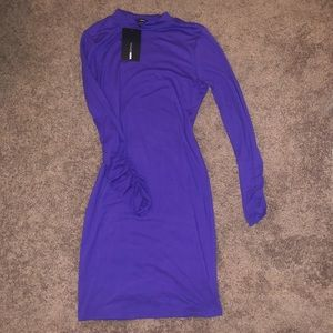 Purple Fashion Nova Dress